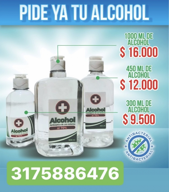 ALCOHOL Y GEL